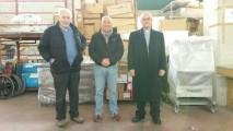 Dario Bedin, dr. Meduri, Mons. Paiaro