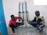 Ciad-Impianti produzione varechina per potabilizzare l'acqua